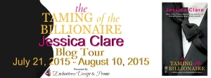 The Taming of the Billionaire Blog Tour Banner Updated